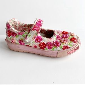 Lelli Kelly Floral Sequin Beaded Shoe Mary Jane